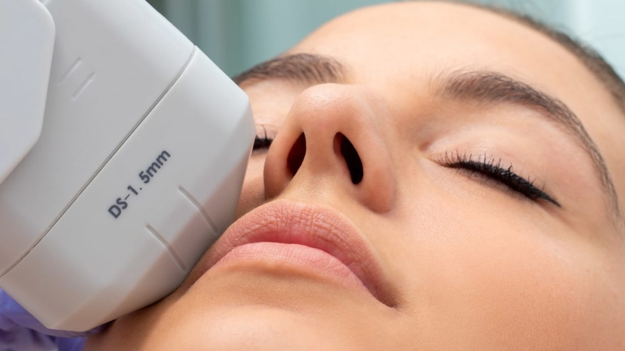 laser and hifu treatments for skin wrinkles